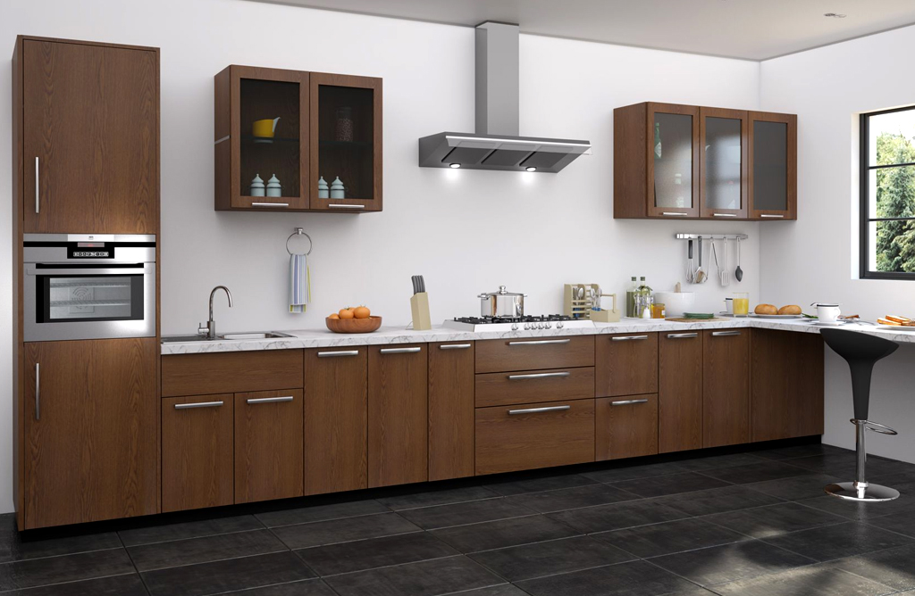 Straight Modular Kitchens